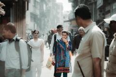 Mumbai - Woman in the crowd