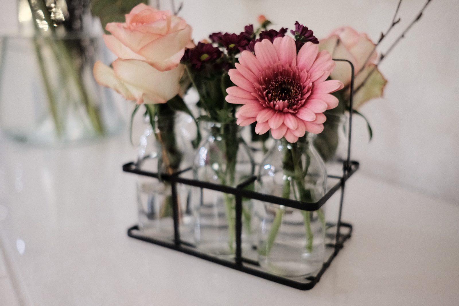 Blumen vom Besuch